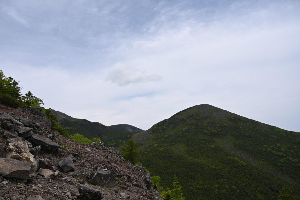 編笠山 西岳から