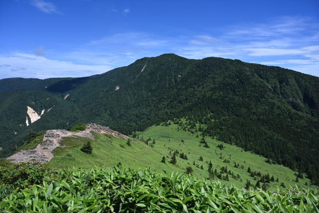 四阿山への道 Azumayasan road
